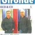 illustration : En 2012 Haute Gironde : deux enfants du pays fêtent 25 ans d'activité